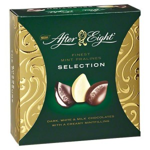 After Eight Mint Pralines Finest selection